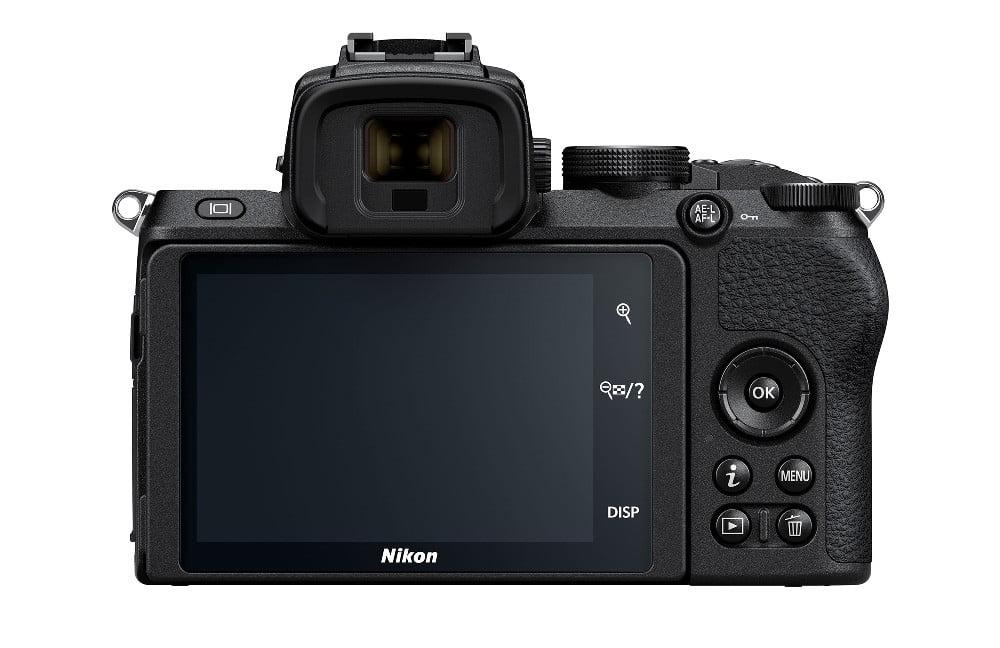 Parte trasera Nikon Z50