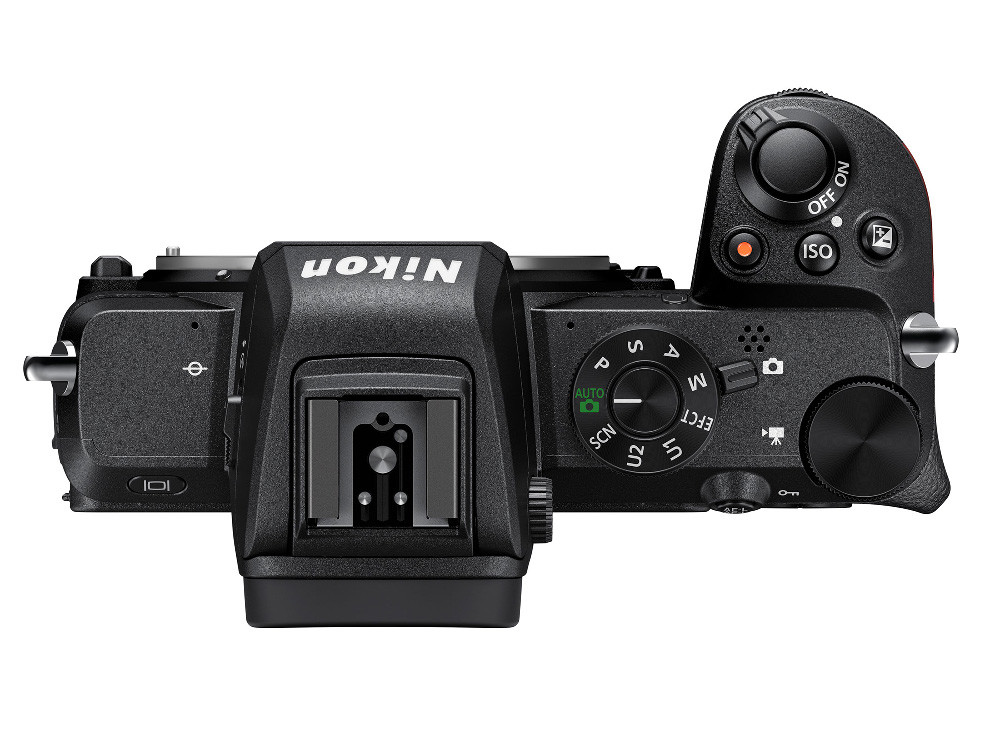 Nikon Z50 vista superior